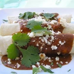 Chicken Enchiladas With Mole Sauce