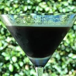 Coffee Flavored Liqueur I Recipe - Vodka is flavored with coffee and vanilla, then sweetened with brown sugar. Excellent for sipping, and makes a nice gift!