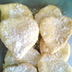 Cream Cheese Cut-Outs I Recipe - A fluffy cookie that tastes like a pastry.  I use this simple recipe to cut out heart-shaped cookies for Valentine's Day.