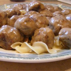 The Meatball that Fell Off the Table Recipe - Ok, so there are a ton of meatball recipes on this site. But nothing is quite like this one. Try it if you like savory, big meatballs to serve with whipped potatoes or egg noodles.