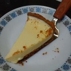 No Bake Lemon Cheesecake Recipe - Light and fluffy no bake cheesecake with a tart lemon taste.