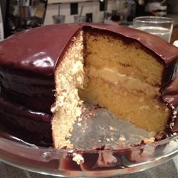 Chef John's Boston Cream Pie  Recipe - Layers of yellow cake are filled with vanilla pastry cream and topped with chocolate ganache in this quick and easy version of a classic Boston Cream Pie.