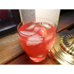 Cherry Vodka Sour Recipe - This is a twist on the regular vodka sour, I add a shot of cherry grenadine to make it special!