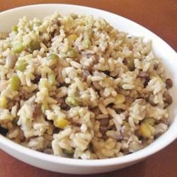 Whole Rice and Lentils (Majadara)