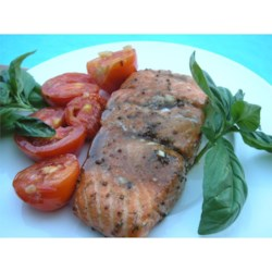 Skrie Salmon Recipe - Anise seed really complements the lemon flavor in this delicious baked salmon recipe.