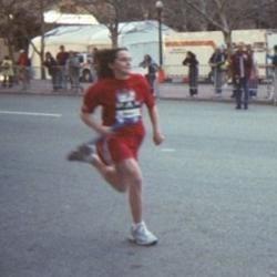 Me at the Boston Marathon Relay