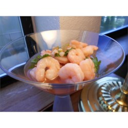 Sweet and Spicy Marinated Shrimp Recipe - Sweet and spicy, these shrimp are marinated overnight for best results.