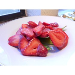 Strawberry and Snap Pea Salad