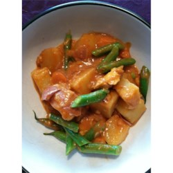 Chicken Navratan Curry (Indian)