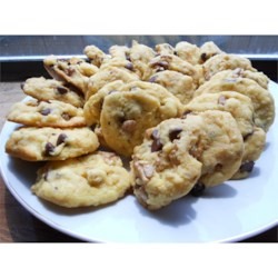 Monster Cookies VIII Recipe - Quick, easy cookie using a boxed cake mix as its base. Very moist and fluffy! Add any variations you desire such as pecans, candy, raisins or butterscotch chips.