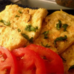 Fried Matzoh Recipe - This quick and easy fried matzoh combines soaked matzoh meal with eggs for a delicious breakfast.