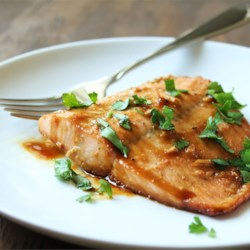 Maple Salmon Recipe and Video - Easy baked salmon, thanks to a simple marinade starring maple syrup and soy sauce.