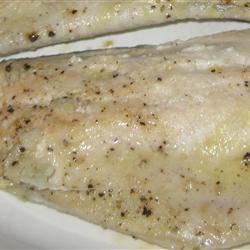 Trout with Lime and Thyme Recipe - The fresh, delicate flavor of grilled trout fillets is enhanced by a simple lime juice and herb marinade.