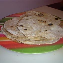 Pakistani Chapati Bread (like Indian Naan