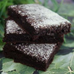 Chef John's Chocolate Mint Brownies Recipe and Video - If you like chocolate mint brownies, try these for a special treat.