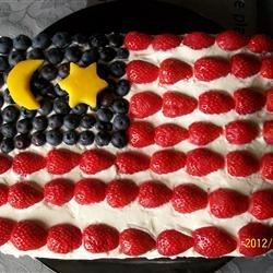 Malaysian Flag Cake