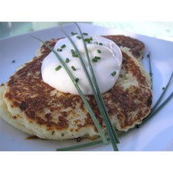 My Crispy Mashed Potato Pancake Recipe and Video - Using leftover mashed potatoes and just a few basic ingredients, you can fry up this delightful and inexpensive dish in a snap.