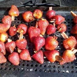 Grilled Bacon-Stuffed Strawberries Recipe - This is great for summer. You have the salty and crunchy from the bacon and the fresh, sweet, and bitter from the strawberry. Unbeatable combo; give it a try.