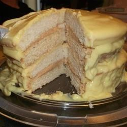 Gold and Silver Cake Recipe - This is a lovely cake for special occasions.  A lovely blend.
