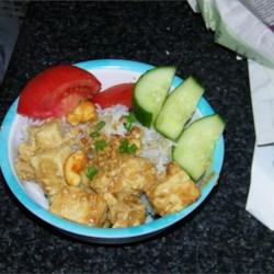 Tofu with Pork and Cashews