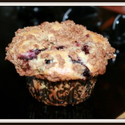 Blueberry Muffin with Crumb Topping