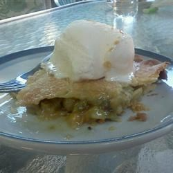 Gooseberry Pie I Recipe - These small, rather tart berries are transformed when sweetened and tucked into a pie shell. This recipe is simple: Just take fruit, sugar, and a bit of tapioca for thickening, and you'll soon get a delicious gooseberry pie.