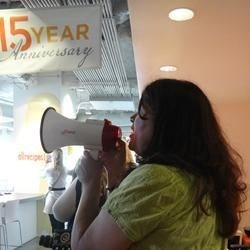 Cory Vicens on her Megaphone