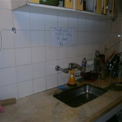 my kitchen with all its surface space...