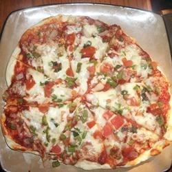 Vegetable Homemade Pizza