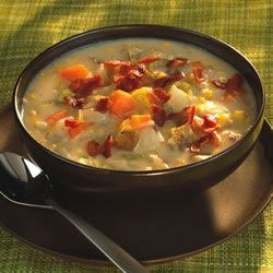 Gramma Brown's Corn Chowder Recipe - This was my great-grandmother's recipe. It is very good to eat on a cold winter's day.