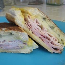 Cuban Midnight Sandwich