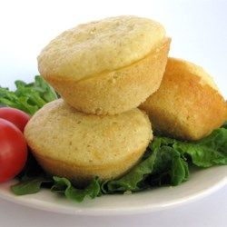 Sweet Corn Muffins Recipe - These corn muffins use canned cream-style corn for a delicious dessert-type muffin perfect for burrito night at your house.