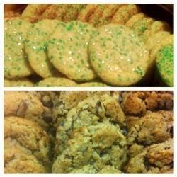 Sugar cookies & Christie cookies