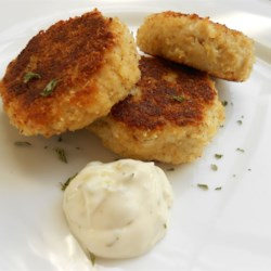 Chef John's Crab Cakes Recipe and Video - These crispy fried crab cakes are packed with sweet tender crabmeat. Enjoy with lemon wedges or tartar sauce.