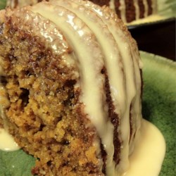 Nutty Graham Cake Recipe - The orange zest and orange juice in this cake recipe gives this cake with graham cracker crumbs the right citrus touch.