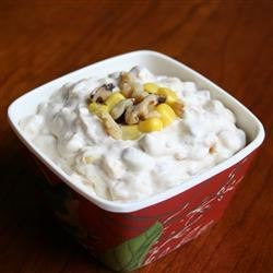 Southwestern Corn and Walnut Dip