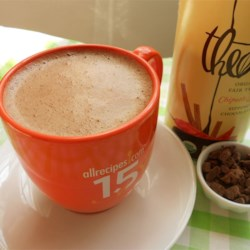 Chocolate Chai Recipe - Spicy cinnamon chai tea with chocolate is a great warm drink for those cold winter nights!