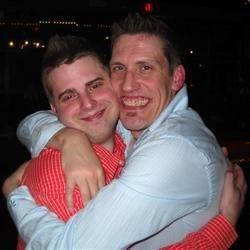 Mark and Brandon - happy times!