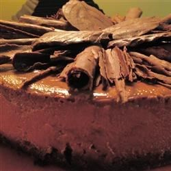 Chocolate Cappuccino Cheesecake