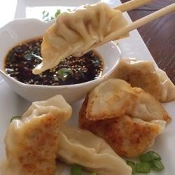 Chinese Pork Dumplings Recipe - Fill store-bought wonton wrappers with a flavorful pork mixture for authentic-tasting dumplings at home.