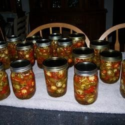 Cheryl's Sweet Pickled Jalapeno Peppers