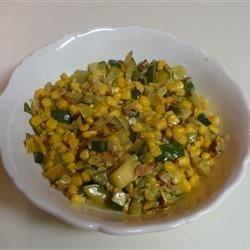 Zucchini & Corn Salad