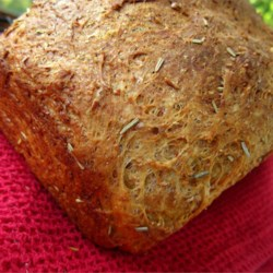 Fresh Rosemary Bread Recipe - This a wonderful herbed, cheese bread to serve with soup.