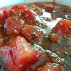 Simple Garlic Salsa Recipe - A classic salsa recipe gets fortified with a generous heaping of garlic.
