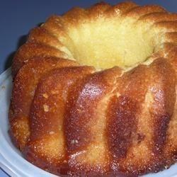 My Pina Colada Rum Cake