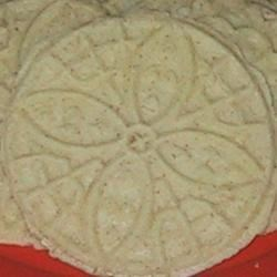 Goro Recipe - Traditional goros cookie made with a goros iron.  This is a commonly shared recipe among Scandinavians.