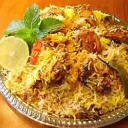 Lamb (Gosht) Biryani Recipe - This Indian lamb and rice dish is a delicious meal for dinner parties.