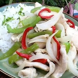 Chicken Pa Nang Recipe - This is just like the Pa Nang served at our local Thai Restaurant.