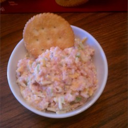 Ham and Cheese Salad Recipe -  Ham and cheese sandwiches are a standard, but wait  'til you try this ham salad with cheese on your next sandwich. Chopped ham, celery and cheese, a bit of prepared mustard and mayonnaise, that 's all. Make a traditional sandwich or stuff in a pita pocket.