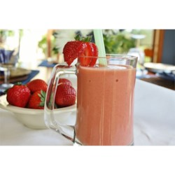Strawberry Orange Banana Smoothie Recipe - Orange, banana, and strawberries make up this refreshing smoothie!
